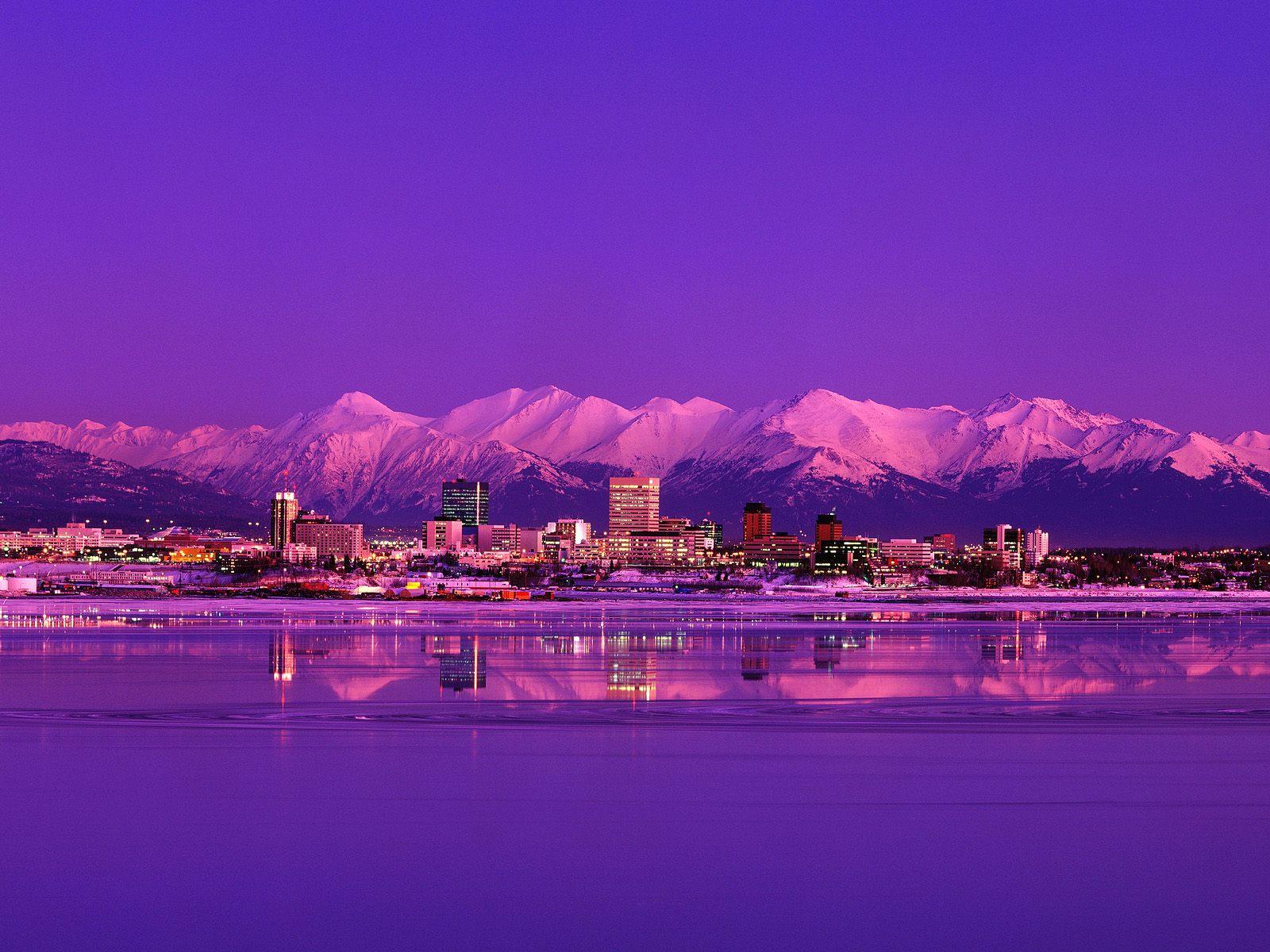Anchorage Alaszka háttérkép letöltés